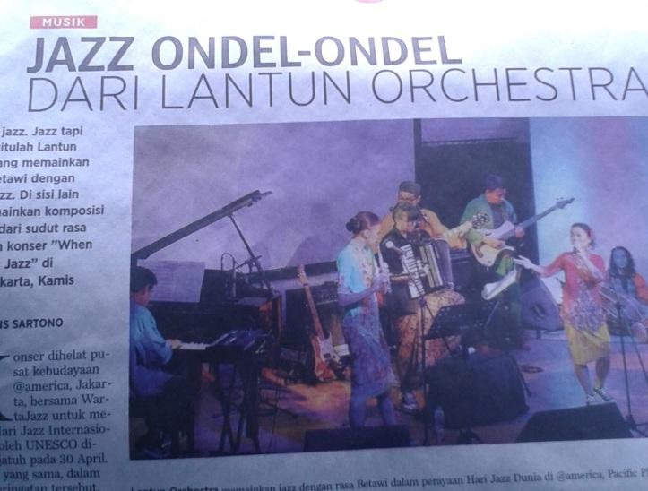Jazz Ondel Ondel